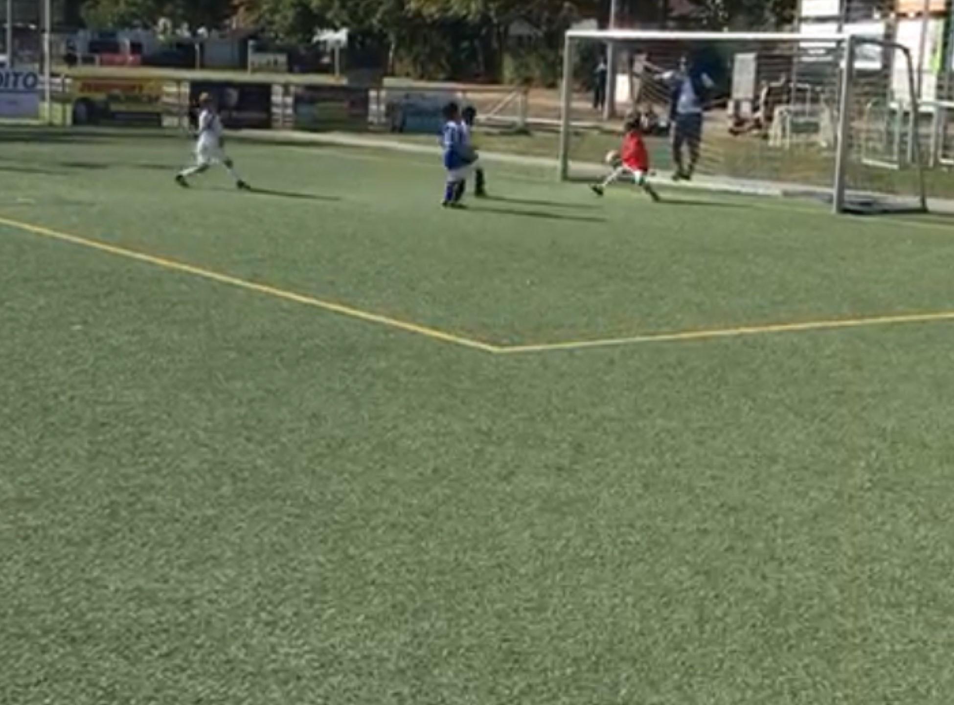 G Jugend gewinnt Derby bei der DJK mit 7:0