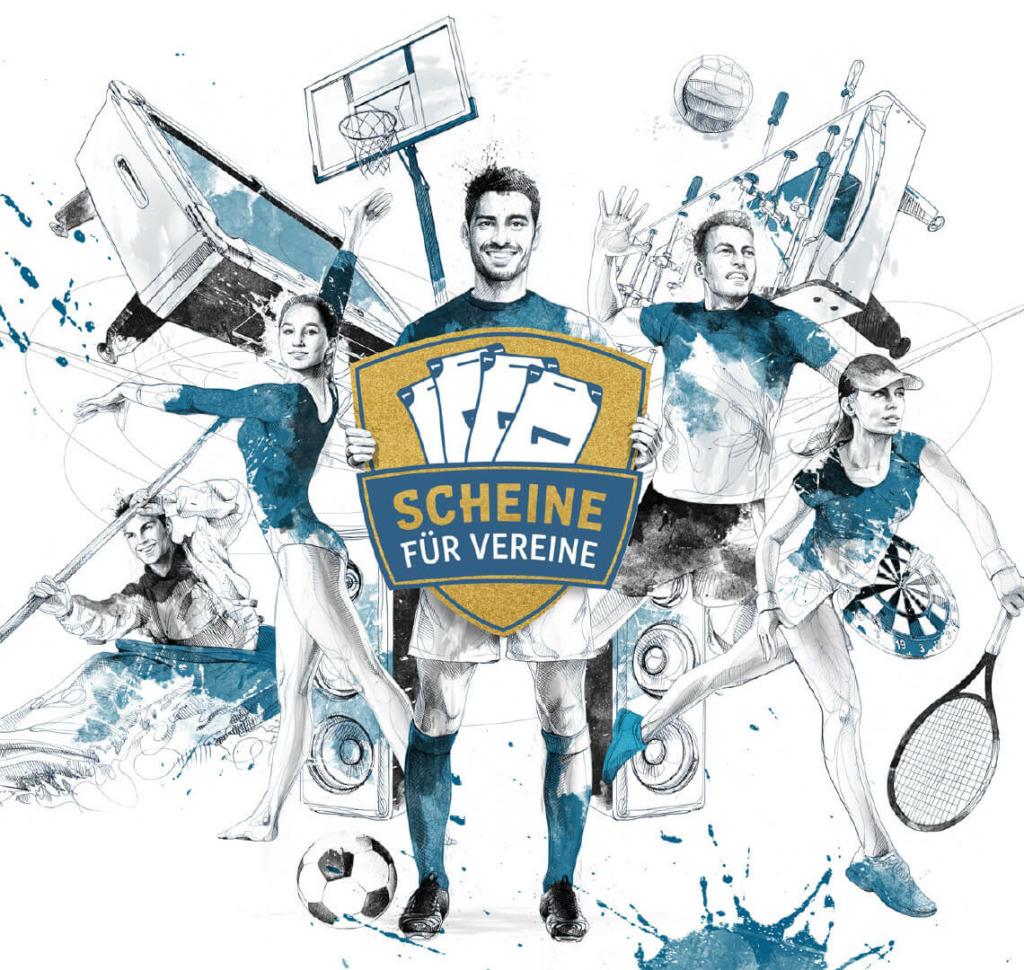 Scheine für Vereine - Spielvereinigung 05/99 Bomber
